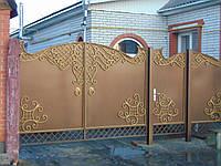 Кованые ворота В-73, фото 1