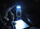 Светодиодный фонарь с солнечной батареей Solar Reading and Torch Light, фото 5
