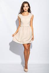 Платье женское воздушное 964K009 (Светло-бежевый)