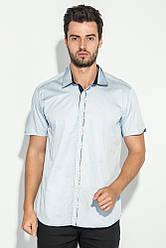 Рубашка мужская с потайной застежкой 50P294 (Серый)