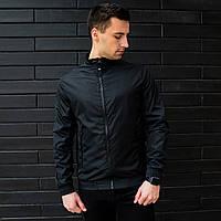 9e77f34e82f Ветровка мужская   куртка весенняя летняя   черная