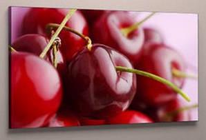 Картина вишни черешни для кухни 40х60