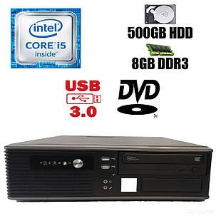 MSI SFF / Intel Core i5-2300 (4 ядра по 2.8-3.1GHz) / 8 GB DDR3 / 500 GB HDD / DVD привод / USB 3.0, SATA 3.0, PCI Express 3.0, i5-2300, 8, 500 HDD, фото 2