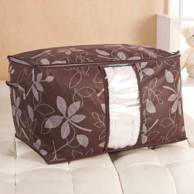 Сумка для одеял спанбонд обычный Genner Home коричневая 01107/01