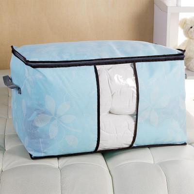 Сумка для одеял спанбонд обычный Genner Home голубая 01107/04
