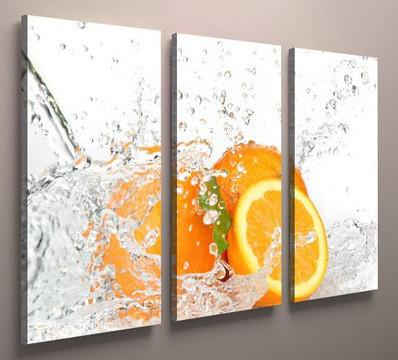 Модульная картина для кухни апельсины 90х60