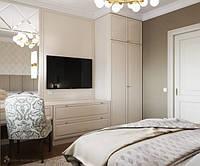 Шкаф в спальню в стиле современная классика. Новинка 2019