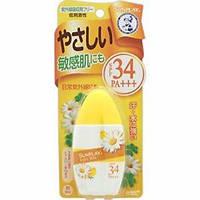 Солнцезащитное молочко для малышей Mentholatum Sunplay baby milk SPF34 PA