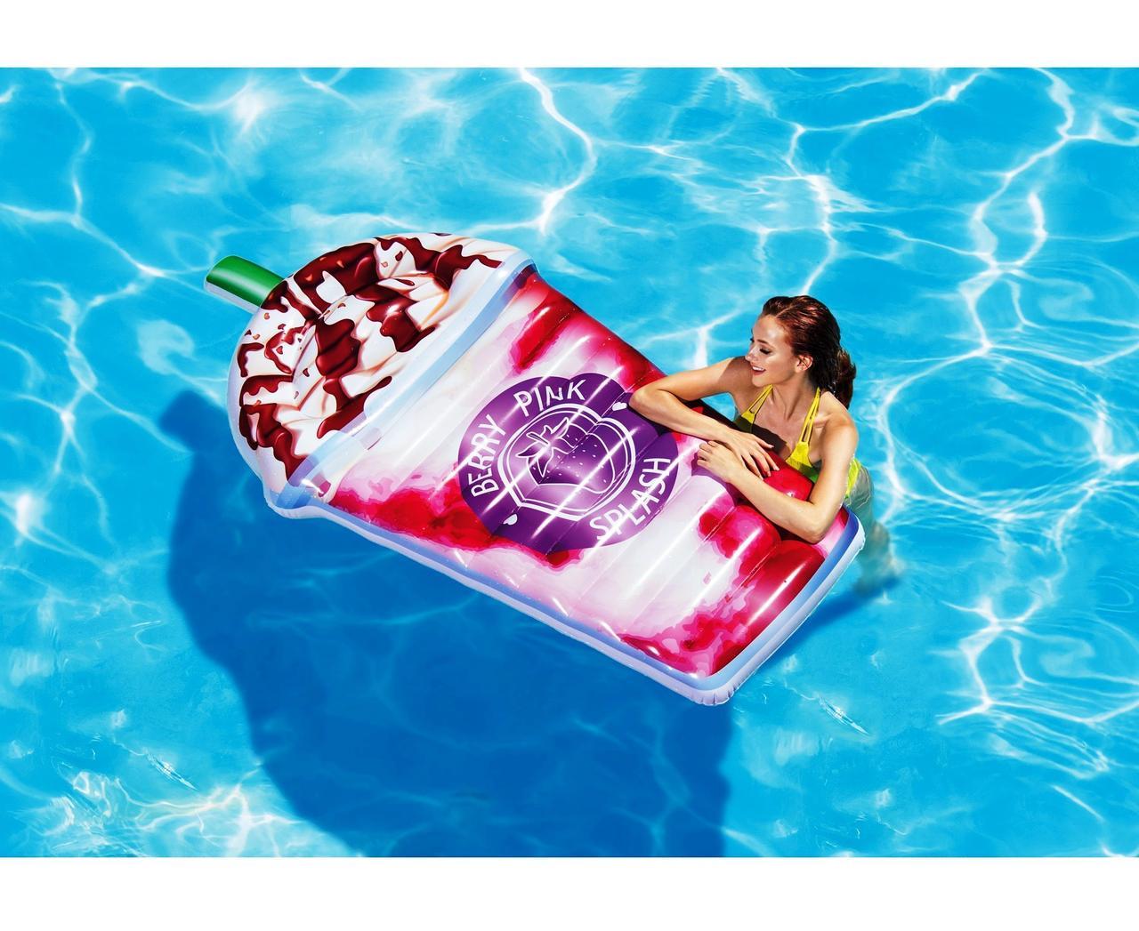 Пляжный надувной матрас - плот Intex 58777 Ягодный коктейль, 198 х 107 см