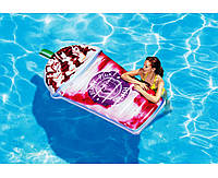 Пляжный надувной матрас - плот Intex 58777 Ягодный коктейль, 198 х 107 см, фото 1
