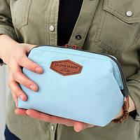 Косметичка с внутренними карманами Genner Un Jour голубая 01033/02