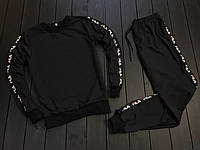 Спортивный костюм мужской, осенний / весенний Fila (реплика)