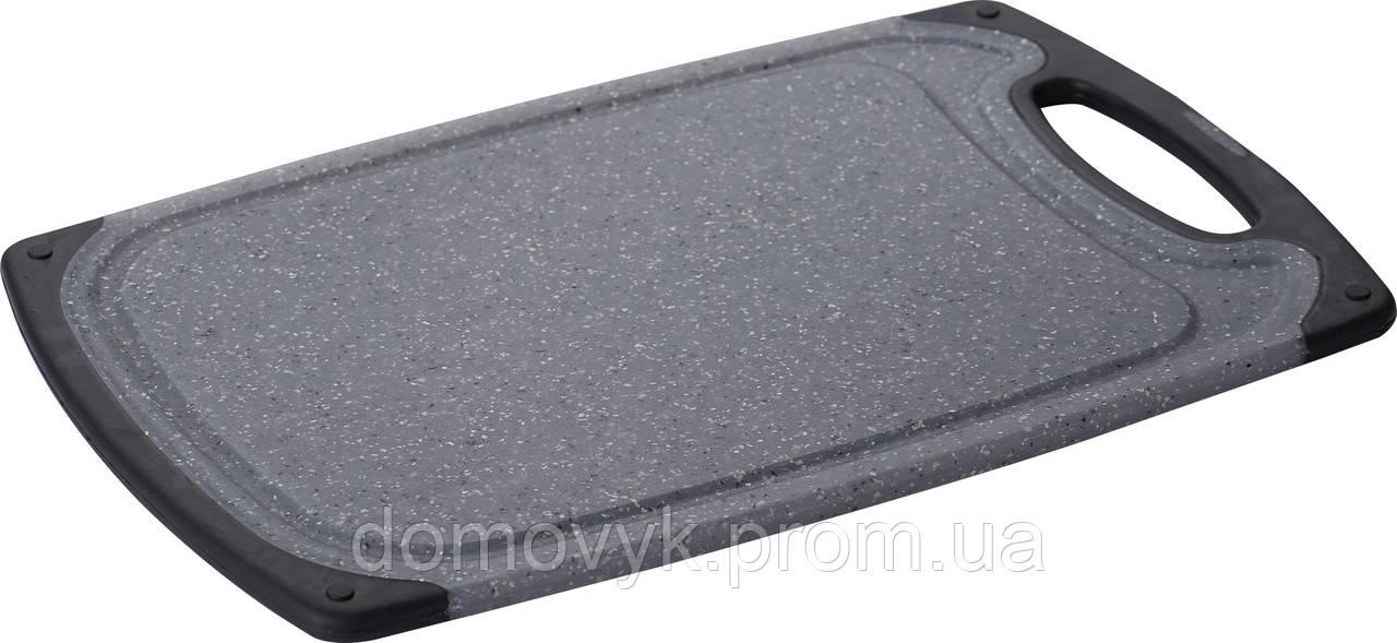 Разделочная доска 40х24 см Bergner Black Marble (BG-4234-MBB)