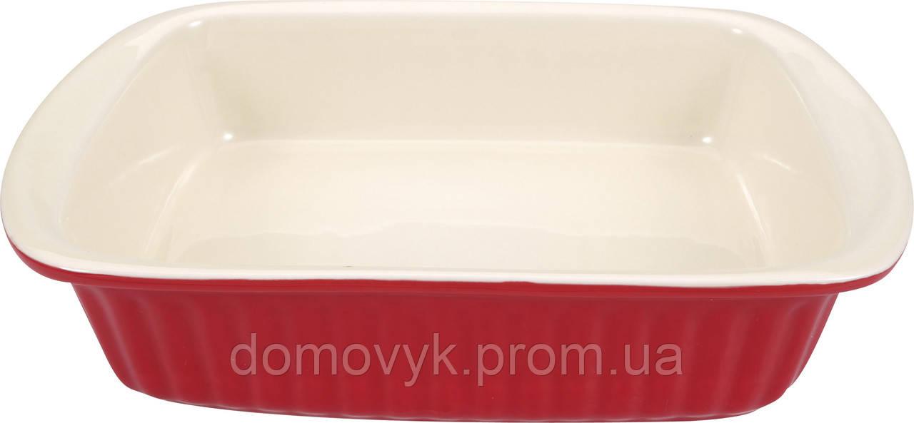 Форма для выпечки квадратная 4000 мл Bergner Bake Right (BG-5818)