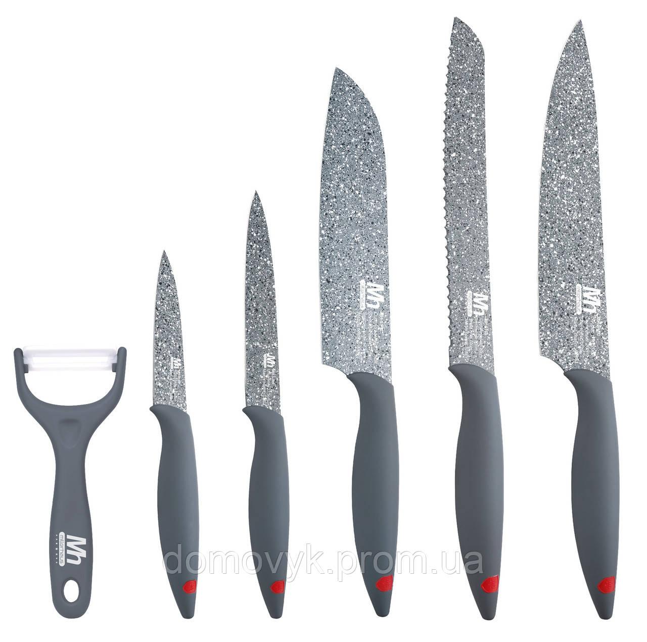 Набор ножей 6 пр. Millerhaus Marcus (MH-5160)