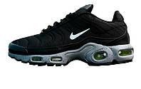 Мужские кроссовки Nike Air Max Plus TN Black/White/Green