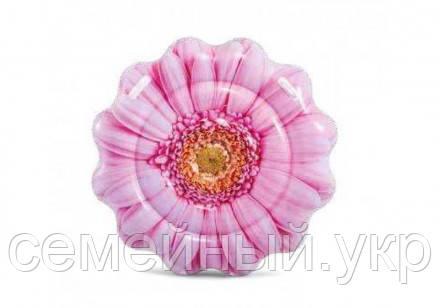 Надувной матрас intex  «Розовый цветок» 58787 EU