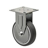 Колеса неповоротные с крепежной панелью (подшипник скольжения) Диаметр: 75 мм.Серия 23 Light, фото 1