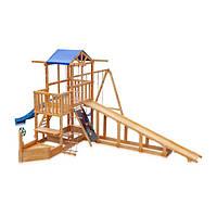Детская площадка Капитан с зимней горкой SportBaby (Babyland-13)