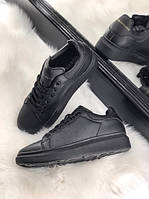 Женские кроссовки Alexander McQueen Black/Black