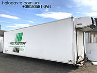 Будка рефрижератор 9.55 длина, с холодильной установкой Carrier Supra 950MT
