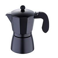 Кофеварка эспрессо 6 чашек Bergner San Ignasio Florencia Black (SG-3516)