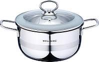 Кастрюля с крышкой Ø20 см 3.1 л Wellberg In Line (WB-08043)