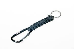 Брелок-паракорд Tramp для ключей, черный