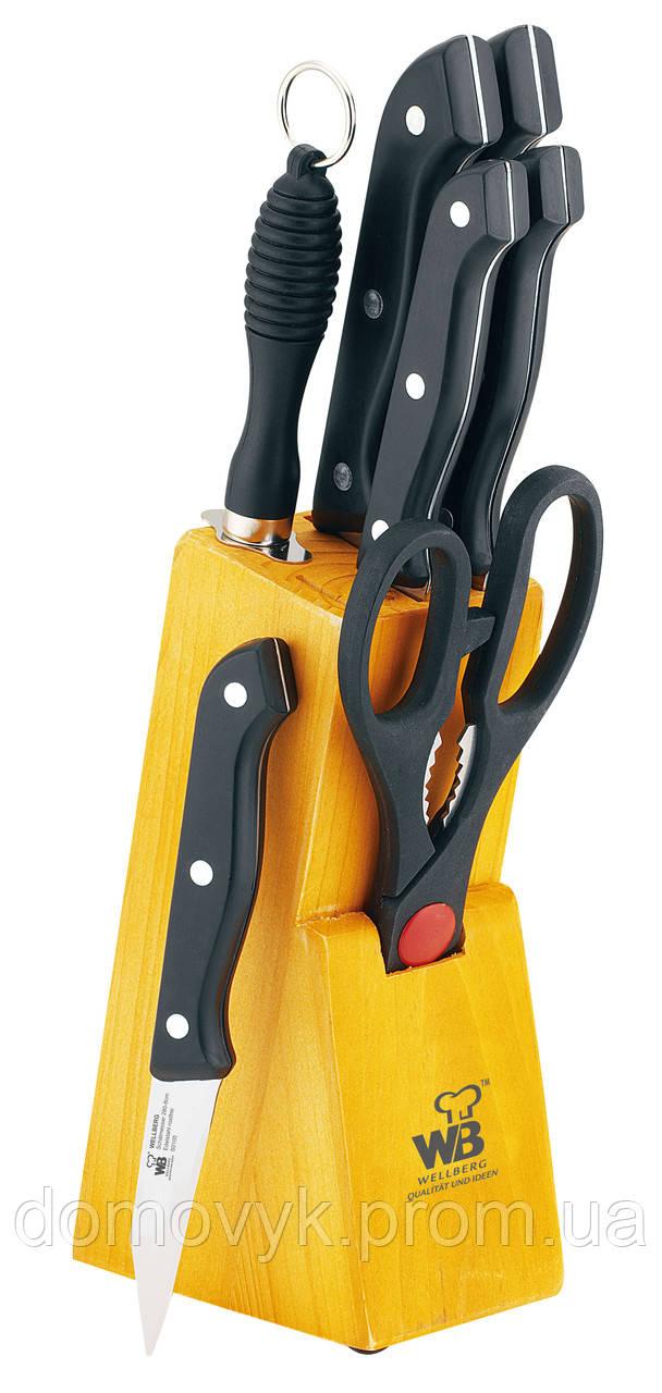 Набор ножей 8 пр. Wellberg Affilé (WB-280)