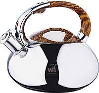 Чайник со свистком 3 л Wellberg Whistling (WB-5861)
