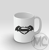 Кружка Batman v Superman (Бэтмен против Супермена) | Кружка Бэтмен против Супермена