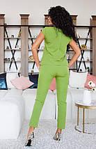 """Брючный женский костюм """"Bonnie"""" с блузой (5 цветов), фото 2"""