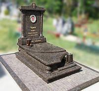 Эксклюзивный гранитный надгробный памятник  Модель  O-02