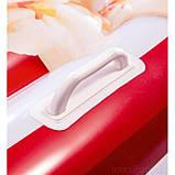 Пляжний надувний матрац - пліт Intex 58779 Попкорн, 178 х 124 см, фото 4