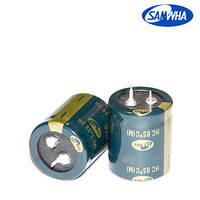 4700mkf - 50v  HC 22*40  SAMWHA, 85°C