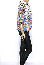 Блузки из шифона в цветочный принт, фото 3