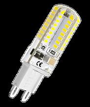 ЛАМПА СВІТЛОДІОДНА КАПСУЛА (BIOM) G9-5W-2508-220 (AC220) КЕРАМ. КОРП. 450Lm