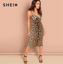 Жіноче леопардове плаття