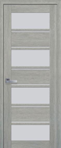 Межкомнатные двери ELIZA со стеклом сатин