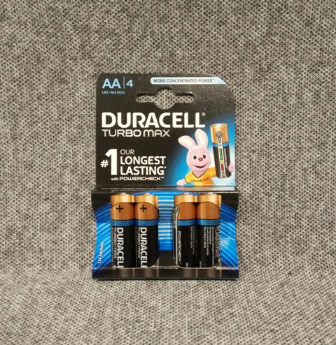 Батарейки Duracell Turbo AA LR6