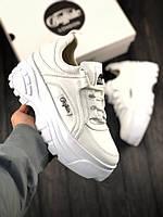 Женские кроссовки Buffalo London White \ Буффало Лондон Белые \ Жіночі кросівки Буффало Лондон Білі