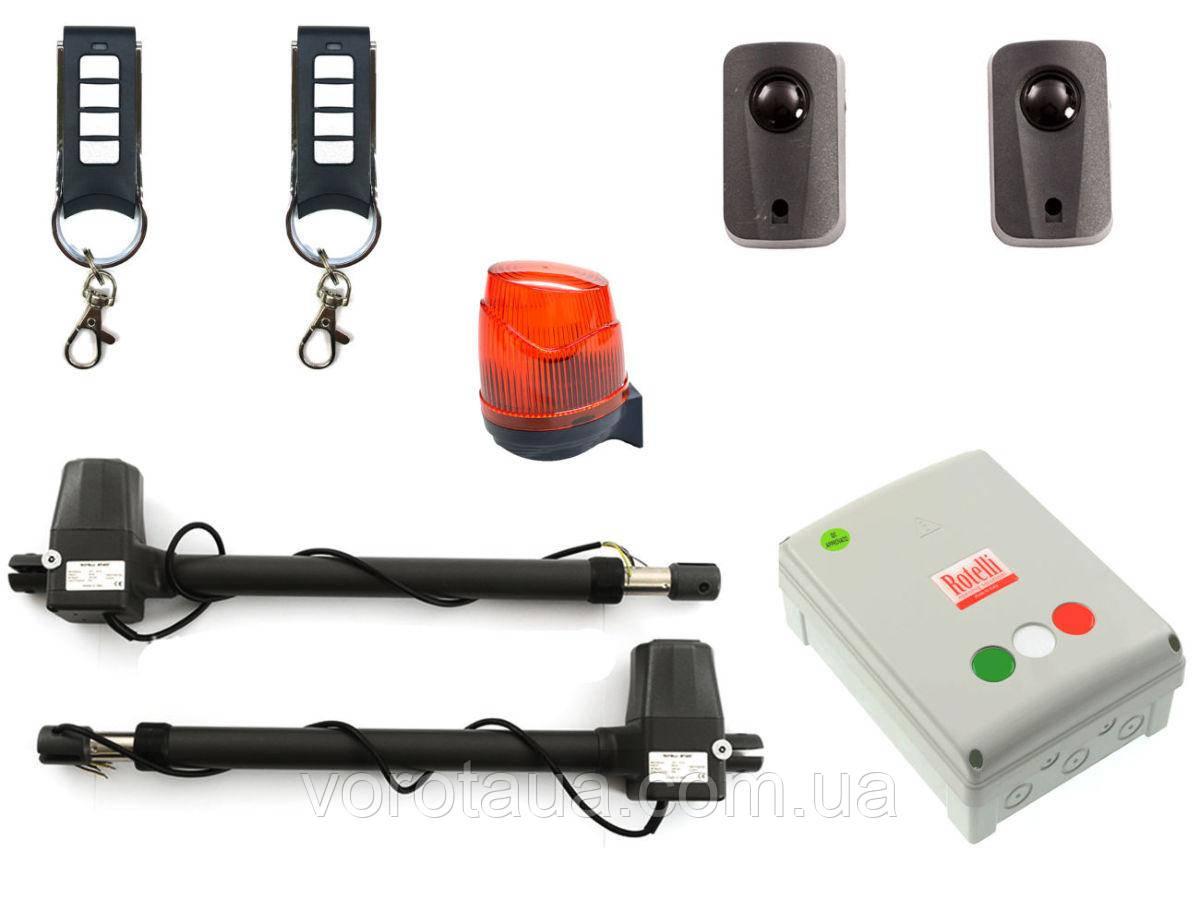Автоматика Rotelli MT400 для розпашних воріт