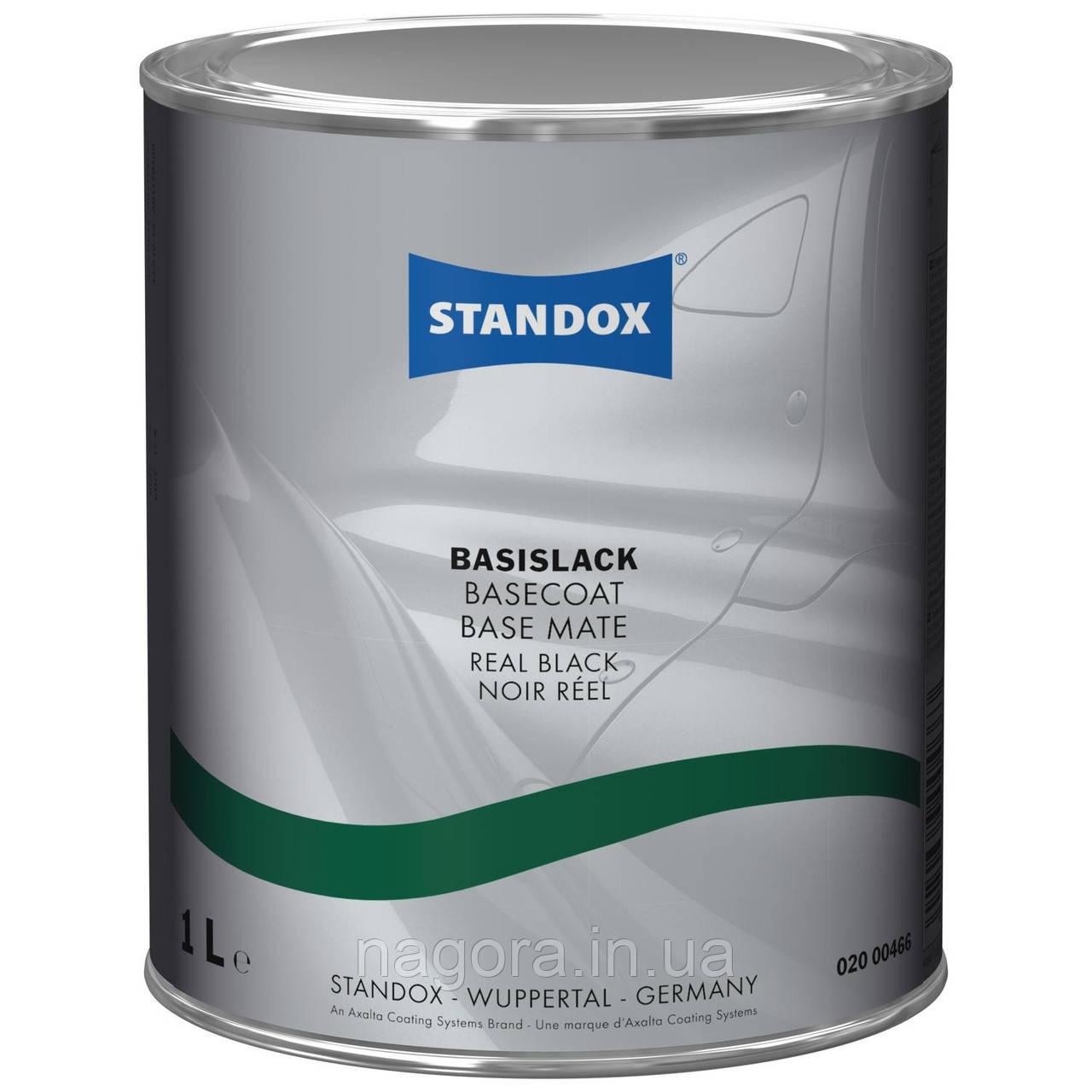 Готовое покрытие Standox Basecoat Real Black (1л)