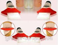 Пресс,зажим для выдавливания тюбиков зубной пасты,полигеля и похожих тюбиков,2 вида (жабка и губки), фото 3