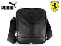 Мужская сумка через плечо Puma Ferrari, барсетка, месенджер