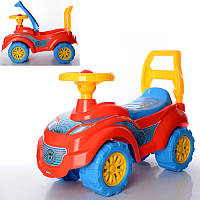 Автомобиль для прогулок толокар-каталка «Спайдермен» арт. 3077