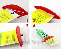 Пресс,зажим для выдавливания тюбиков зубной пасты,полигеля и похожих тюбиков,2 вида (жабка и губки), фото 4
