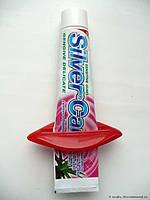 Пресс,зажим для выдавливания тюбиков зубной пасты,полигеля и похожих тюбиков,2 вида (жабка и губки), фото 6