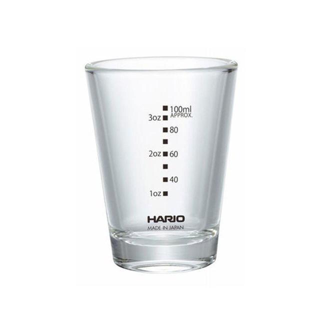 мерный стакан Харио для приготовление кофе, эспрессо, лунго, доппио, ристретто