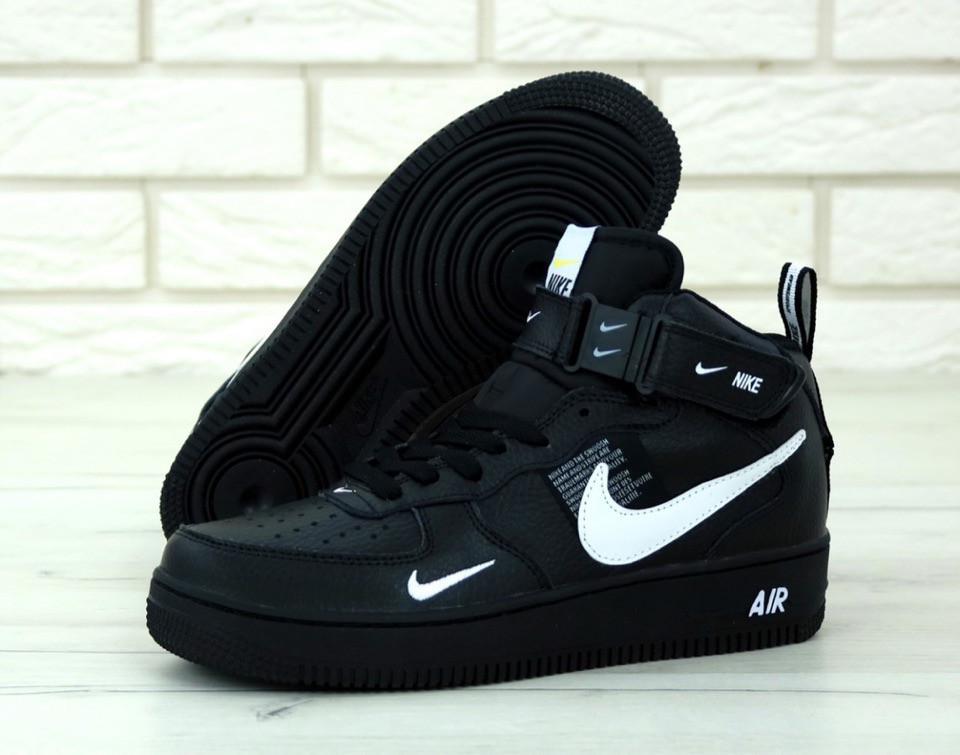 buty jesienne najlepszy dostawca całkiem tania Мужские кроссовки Nike Air Force 1 Mid 07 L.V.8 Utility Pack Black